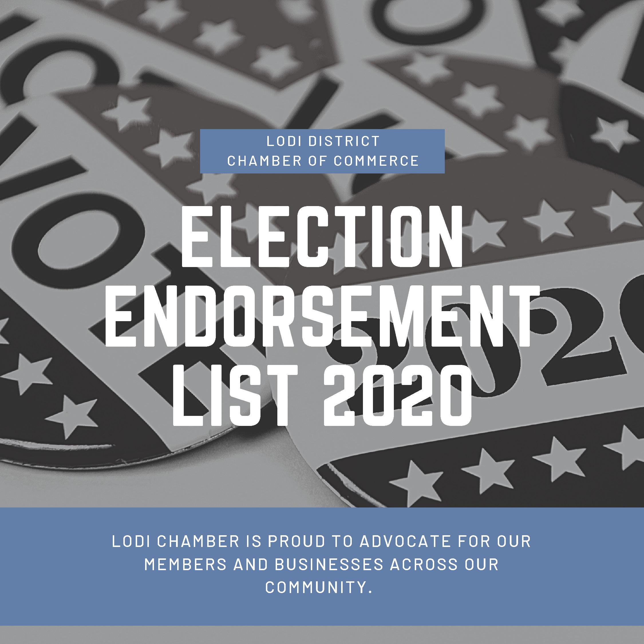Lodi Unified School Board Endorsements