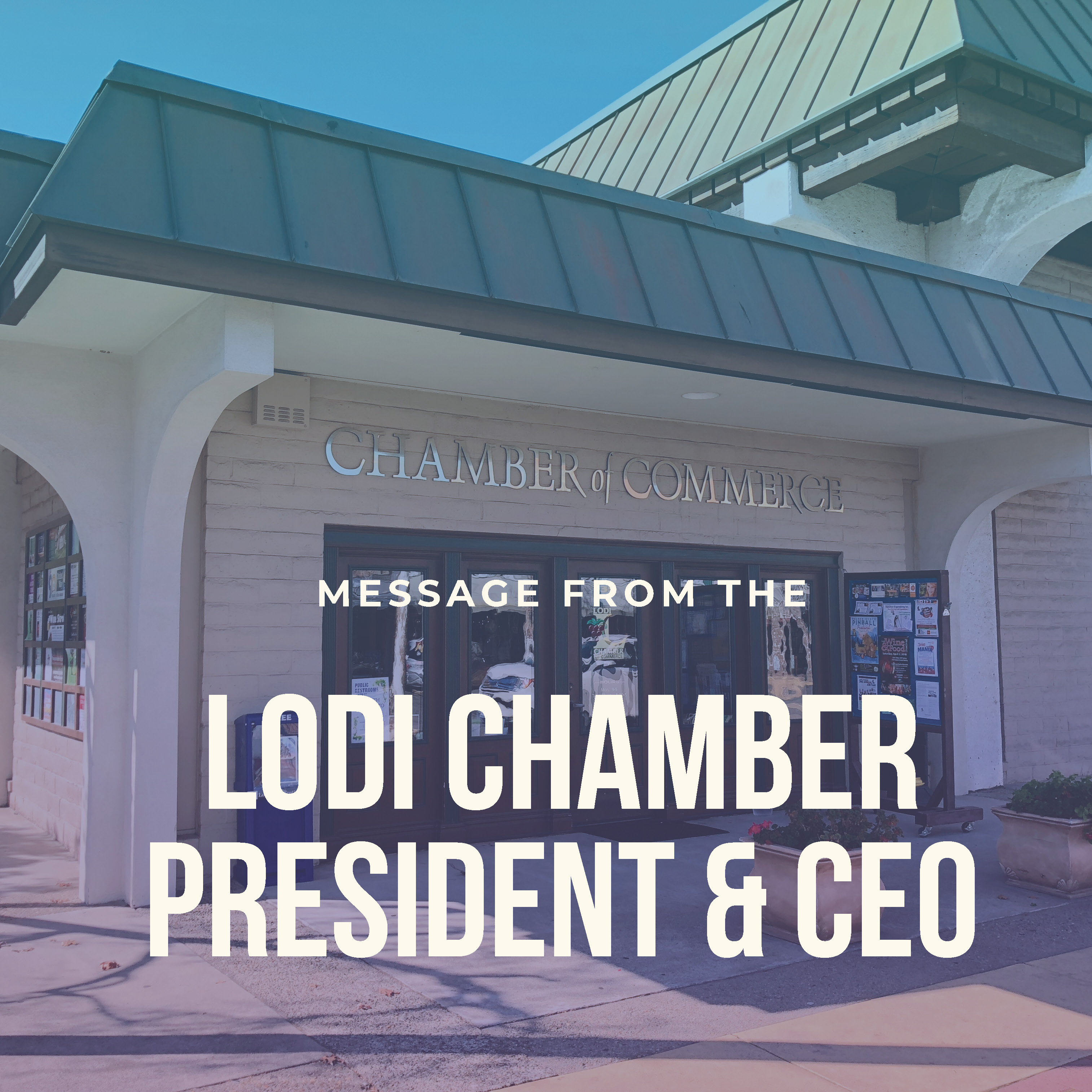 Image for Message from the President & CEO
