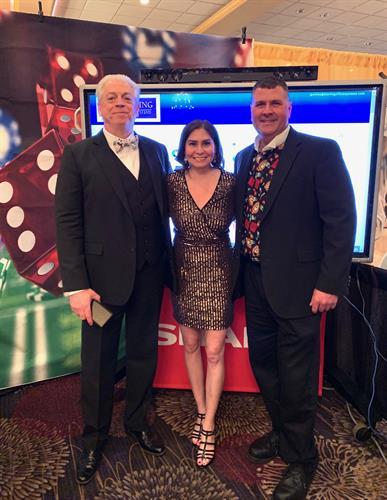 Marcie Rivera, Jeff Polites and John Wetherbee Jr