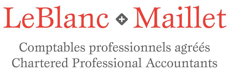 LeBlanc & Maillet Chartered Professional Accountants