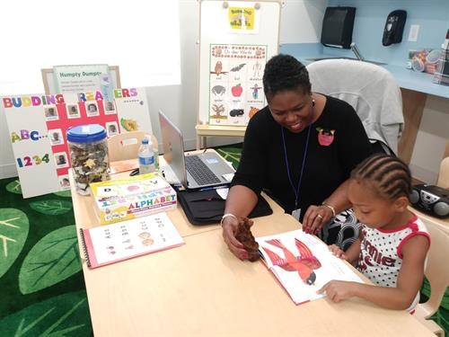 Budding Readers with The Literacy Coalition of PBC
