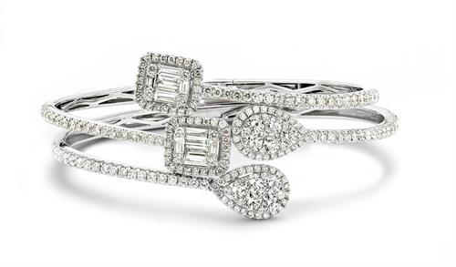 Diamond Bypass Bangles