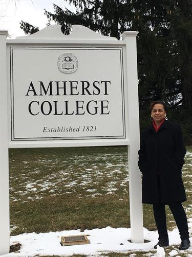 Nicole Jobson of International College Counselors visits Amherst College