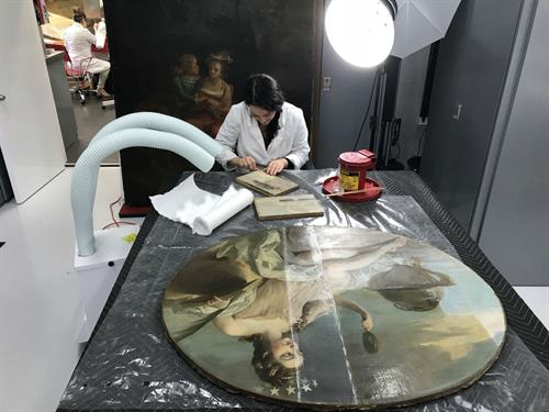 Painting Art Conservation