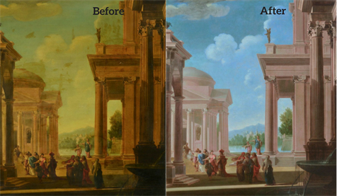 Italian Capriccio, Before / After