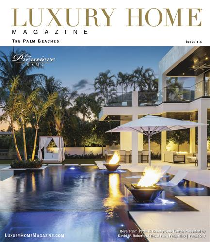 The Premiere Issue of Luxury Home Magazine | The Palm Beaches