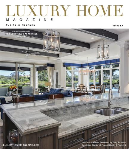 Luxury Home Magazine | The Palm Beaches - Issue 1.4
