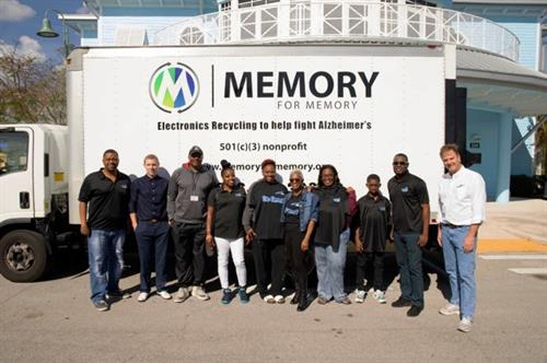 Memory for Memory donating computers to Connect to Greatness