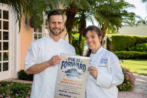 Chefs from our Pie It Forward Campaign