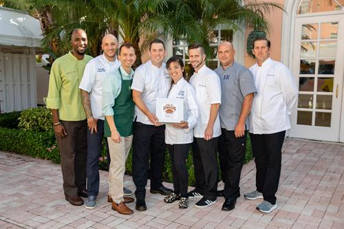 "Some of our ""Pie Masters"" (chefs) for our Pie It Forward Campaign"