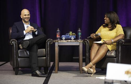 2020 Keynote Speaker, Former White House Chef Sam Kass and Mistress of Ceremonies, Tania Rogers