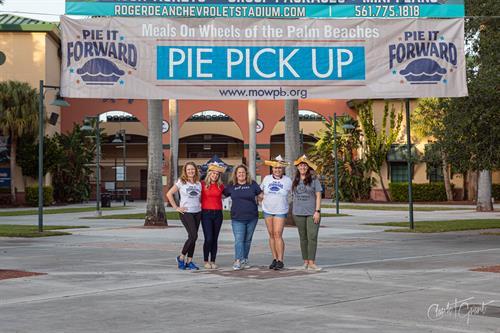 Pie Distribution Day at Roger Dean Chevrolet Stadium