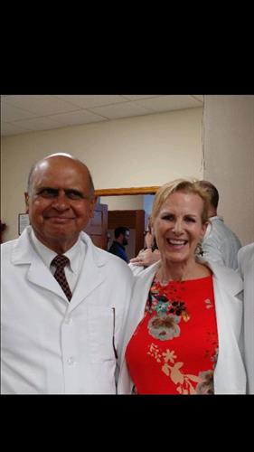 Nancy with Great Mentor/Author, Dr. P Bannerjee, MD