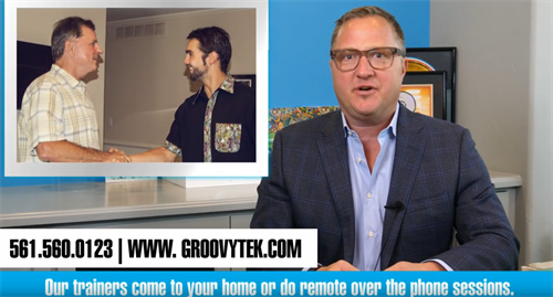 Matt Munro co-founder of GroovyTek - in home personal technology