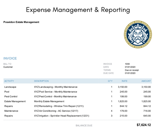 Expense Management & Reporting