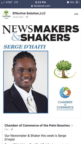 Board of Trustee Member with The Chamber of Commerces of the Palm Beaches