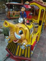 Kids love the Safari Train...