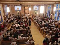 100th Parish Anniversary Mass celebrated by Bishop Barbarito