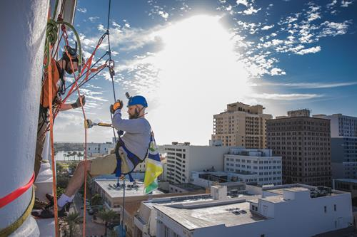 Rappelling to End Homelessness 2019