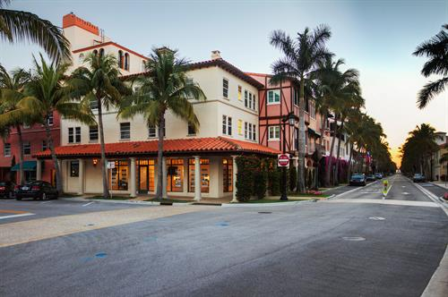 Worth Avenue office located at 353 Worth Avenue, Palm Beach.