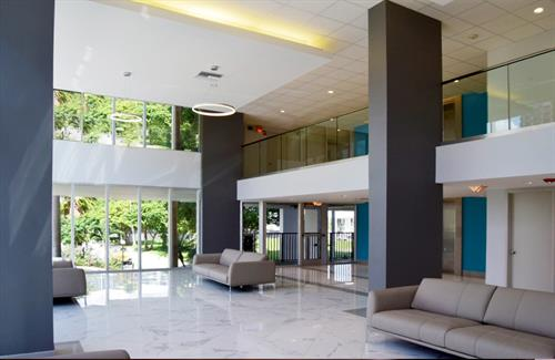 Condominium Lobby Renovation, Pompano Beach FL