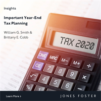 Important Year-End Tax Planning