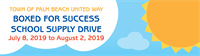 Boxed for Success School Supply Drive