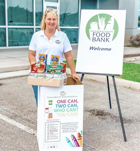 Protein Back to School Food Drive