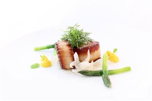 Scallop, Asparagus