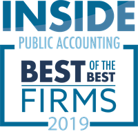 "CPA Firm Receives High Recognitions; Among ""Best"" in the Nation"