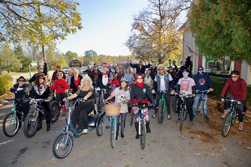 Day of the Dead Annual Bike Ride!