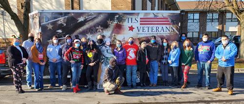 TLS Veterans 2020 Christmas crew