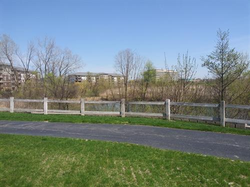 Take a walk on the 2.5 mile paved path