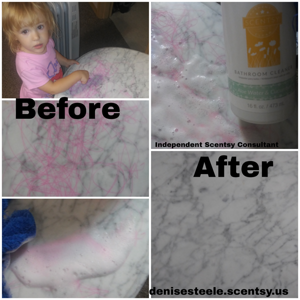 Scentsy's Bathroom Cleaner