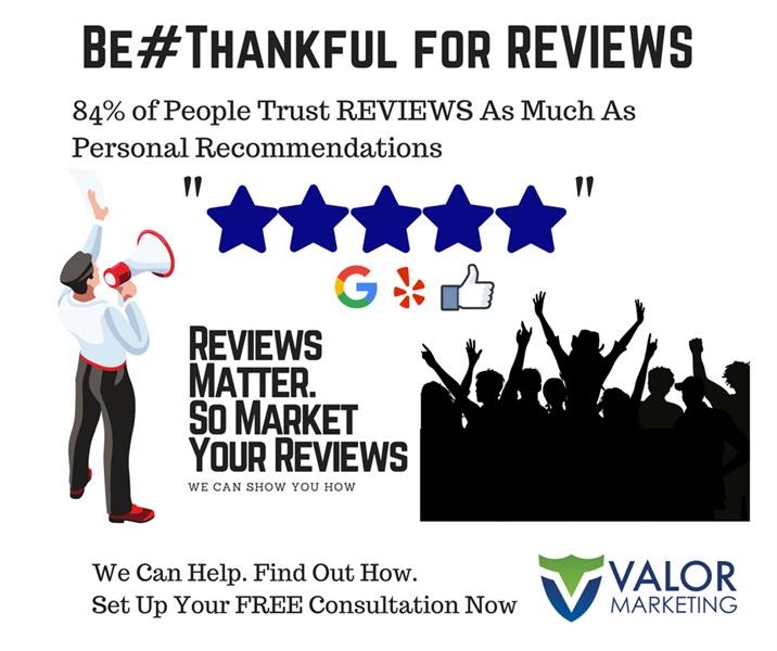Good Reviews can impact your business