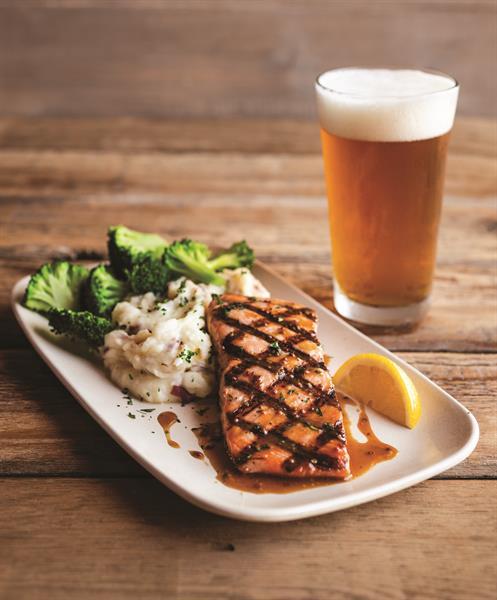 IPA Glazed Salmon