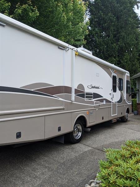 38ft RV washed and waxed
