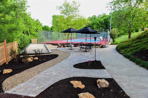 LCC Bocce Ball & Tennis Courts