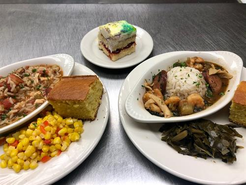 Daily fresh meals by on-site Chef
