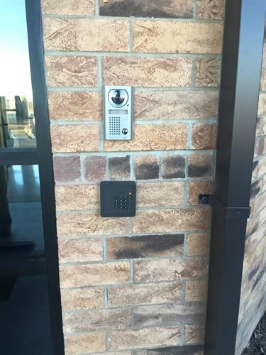 Commercial Access Control with smartphone app