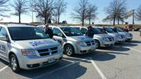 A glimpse of our 20+ fleet waiting to serve you!