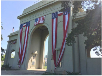 Haskell Arch was dedicated in 1926 as the First Tribal World War I Memorial to the 415 Haskell Students who served during World War 1.  This marked as the largest gathering of tribal people to date in the history of Lawrence, Kansas. The construction of the Arch cost $166,000.
