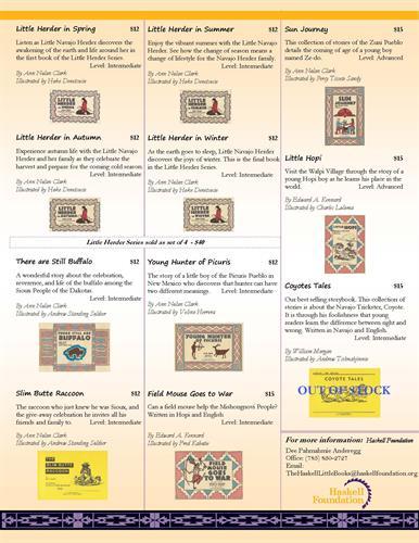 Little Books information pg 2