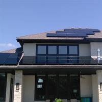 14.740kW Residential SunPower Solar Array - Stilwell, Kansas