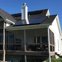 8.04kW Residential SunPower Solar Array - Gardner, Kansas