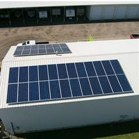 12.54kW Solar PV Array. Coppers Carts - Hays, Kansas