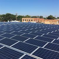 99.8kW Solar PV Array. Grant County Bank - Ulysses, Kansas
