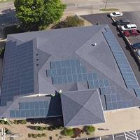 43.7kW Solar PV Array. Commercial Business - Topeka, Kansas