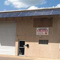 5.2kW Solar Awning.  Lawrence Creates Space - Lawrence, Kansas