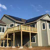 8.04kW Residential SunPower Solar Array - Lawrence, Kansas